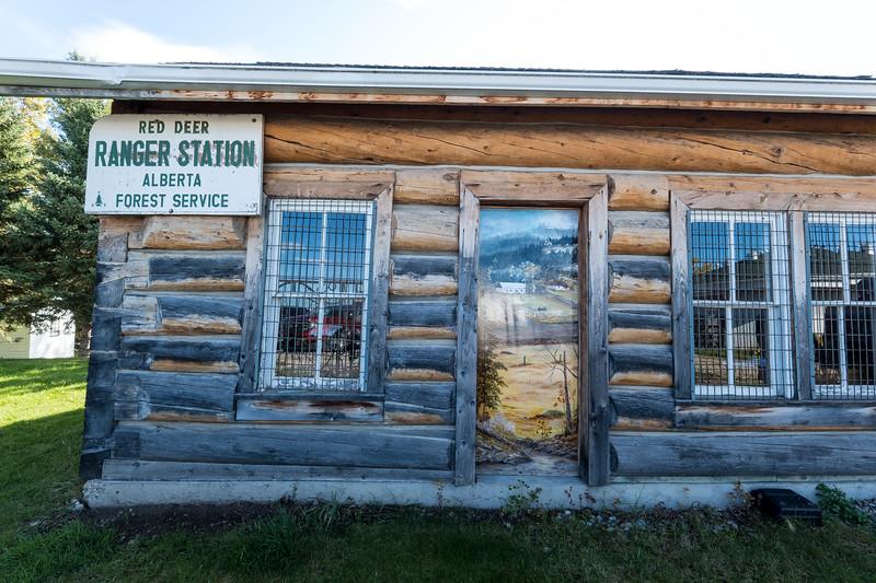 The Recreated Ranger Station
