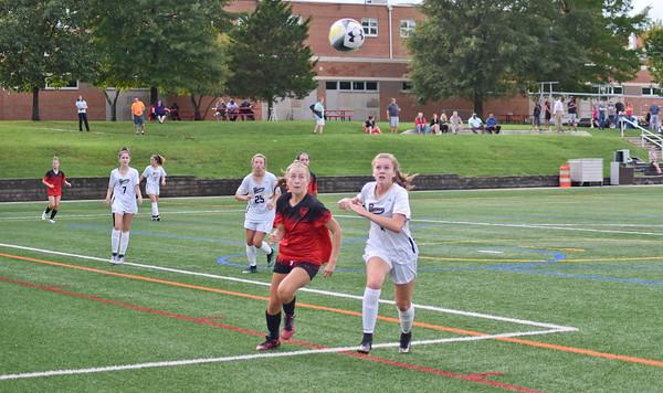 St. John's (DC) vs. Paul VI (VA) girls soccer