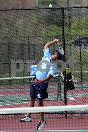 Clarksburg Boys Tennis vs. SV