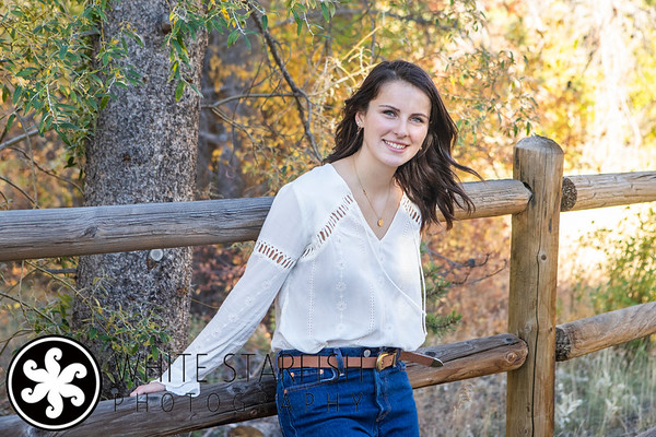 Vail High School Senior Photos - East Vail - Gabby