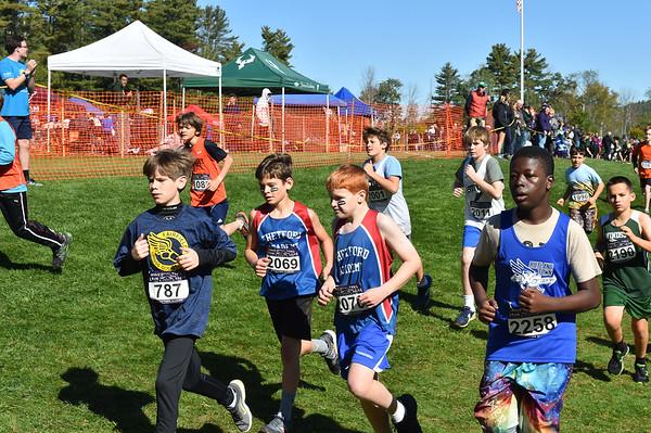 Boys JH 2019 Woods Trail Run 2019-10-05