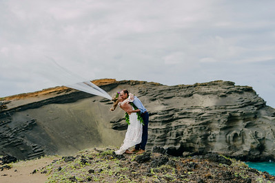 Green Sands Beach Wedding
