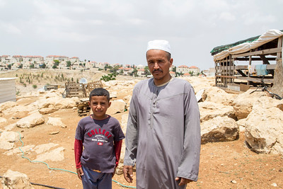 West Bank evictions - affected communities