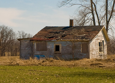 Old Country Homes or Abandoned Homes & Other Structures