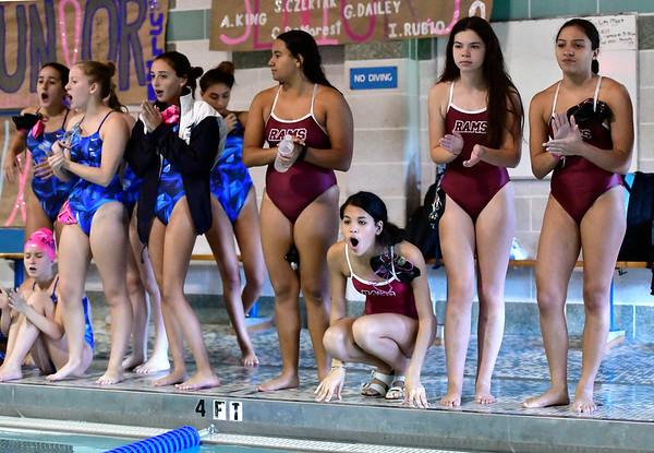 10/12/2019 Mike Orazzi | Staff The city swim meet on Saturday night.