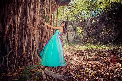 Sesion de Quinceañera Nicole @ parque Mirador Sur