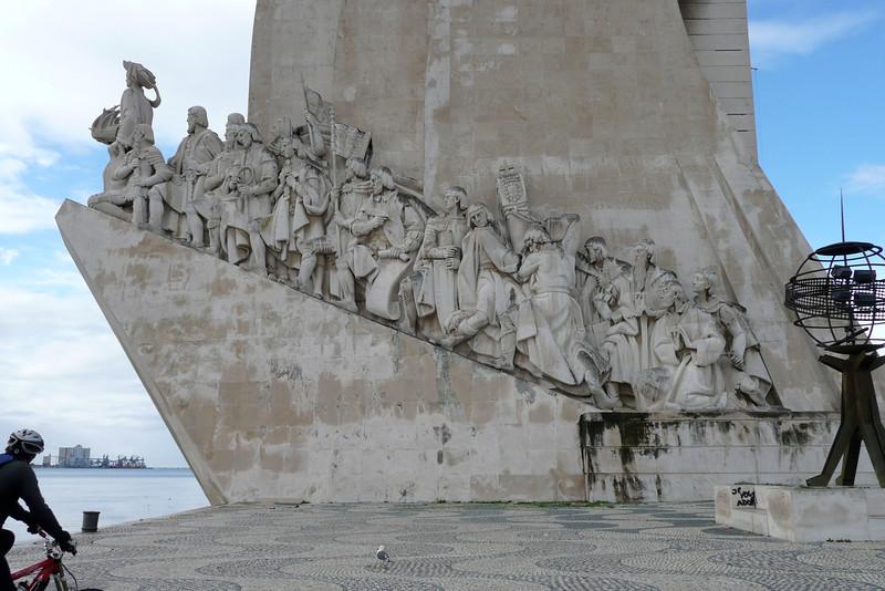 Padrão dos Descobrimentos. Belém, Lisbon