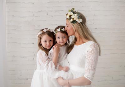 Mommy, Autumn and Anna