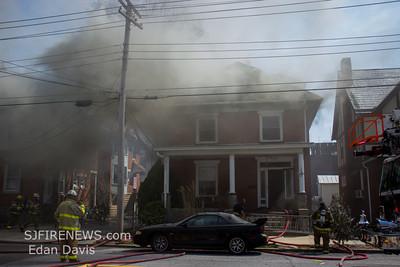 04/13/2014, 2 Alarm Dwelling, Millville City, Cumberland County, 117 E Pine St.