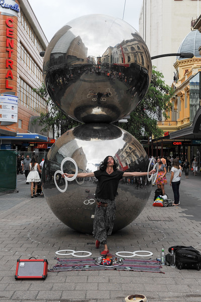 Out and about at Adelaide Fringe