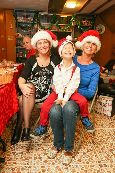 Family Christmas celebration - December, 2014