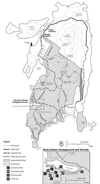 Acadia National Park (Isle au Haut)