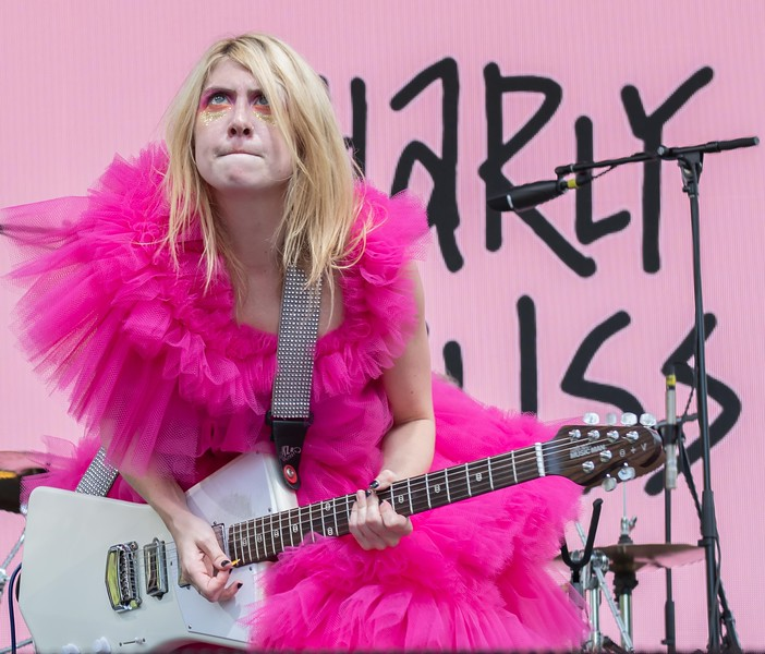 Charly Bliss at the Made in America Festival