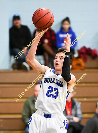 February 5, 2019; Smith Valley vs. Mineral County, Boys Basketball