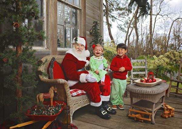 Josie Norris Santa 2020