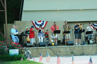 2018 07 04 4th of July Concert at Jackson, MO Park
