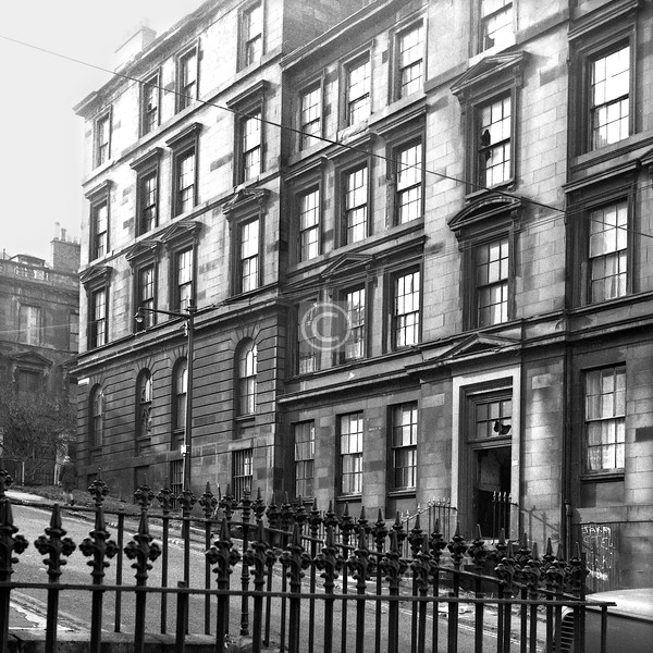 Garnethill St., west side north of Hill St.   March 1974