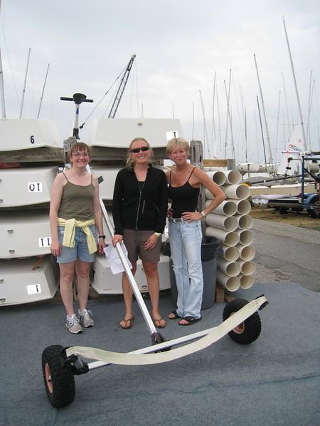 Dolly girls: Cheryl, Elaine and Sandy
