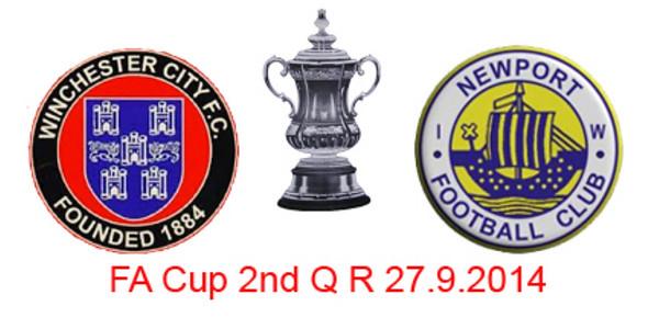 WCFC (3) v Newport IOW (3) 2nd QR FA Cup 27.9.2014