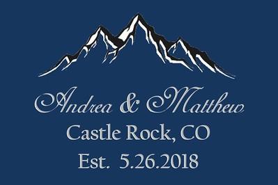 Andrea and Matthew Wedding - May 26, 2018