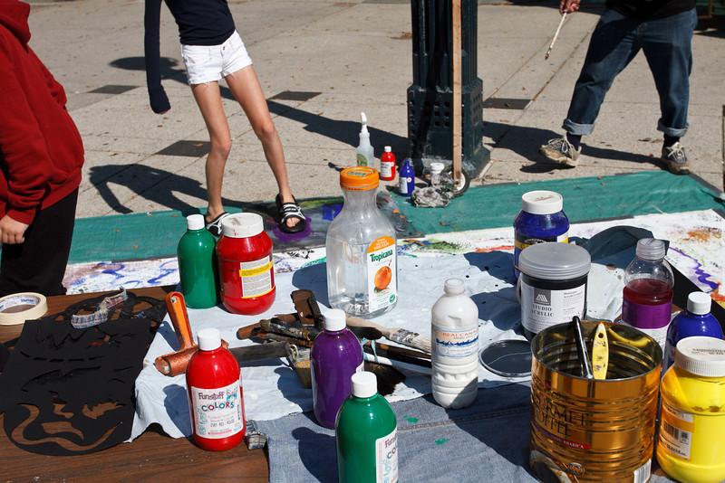 Joseph Muscat at the Street Art Festival