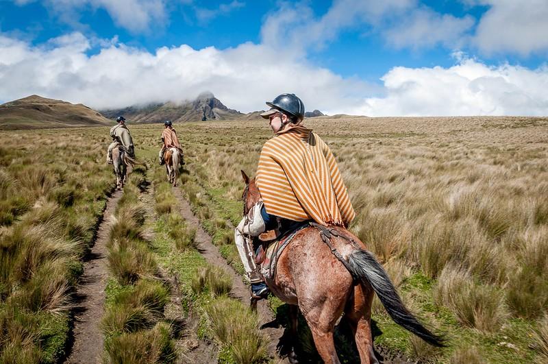 South America Adventure Cotopaxi Horse Trek Ecuador