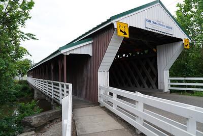 Newton Falls Covered Bridge (2019)