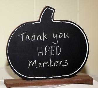 HPED- THANK YOU MEMBERS - NOVEMBER 21, 2019