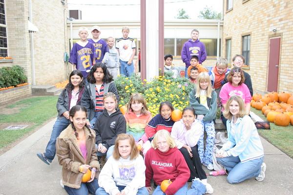 5th Grade Pumpkin Patch 2005