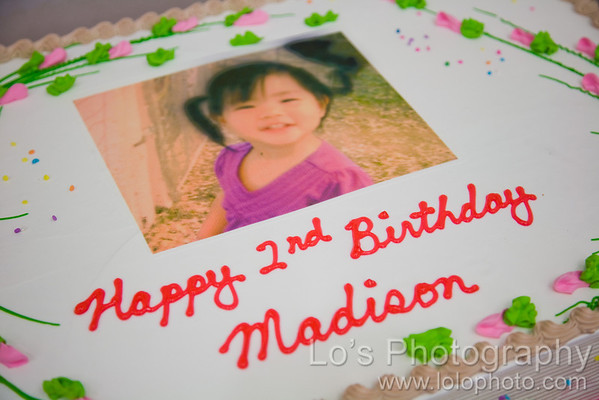 Madison's 2nd Birthday Party