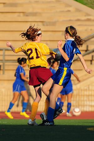 TP Girls V vs San Pasqual 2-17-10