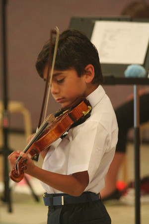 spring violin recital 2009
