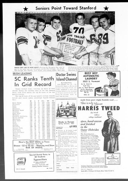 Daily Trojan, Vol. 48, No. 26, October 26, 1956