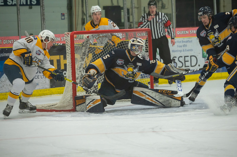 AJHL Playoffs R1G5 - Spruce Grove Saints - Grande Prairie Storm