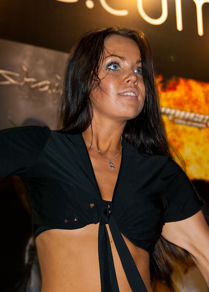 Nival Network girl at Igromir 2009