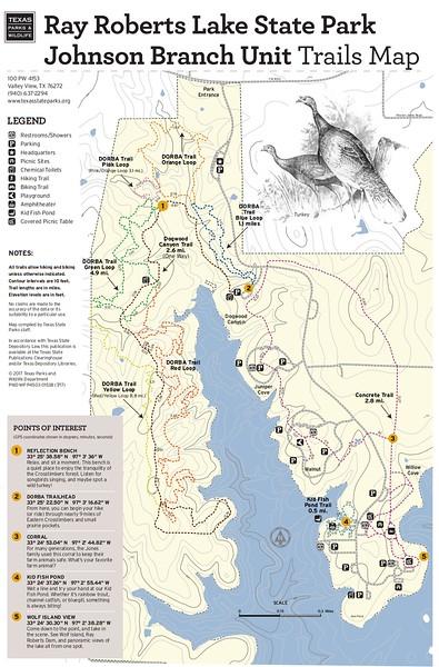 Ray Roberts Lake State Park (Johnson Branch Unit Trails)