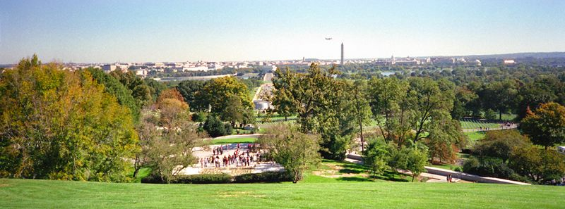 Washington skyline, Arlington