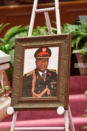 Late Gen BA Raji's funeral service