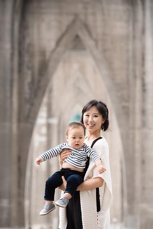 Andrea Oh Family Summer 2017