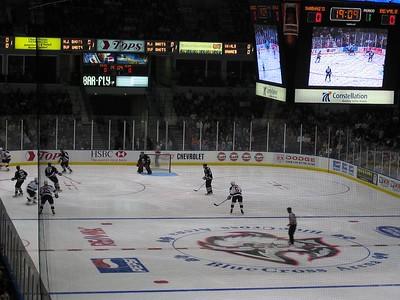 Sabres-Devils Hockey Game