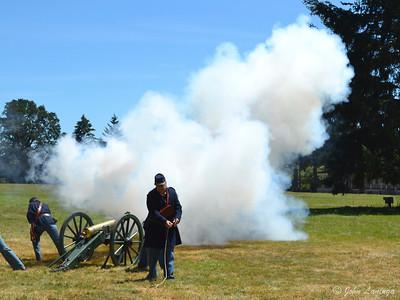 Last canon firing