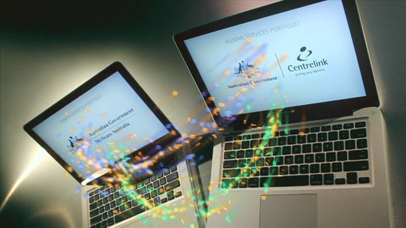 Reduce Paper Promo Highlights Digital Media Centrelink