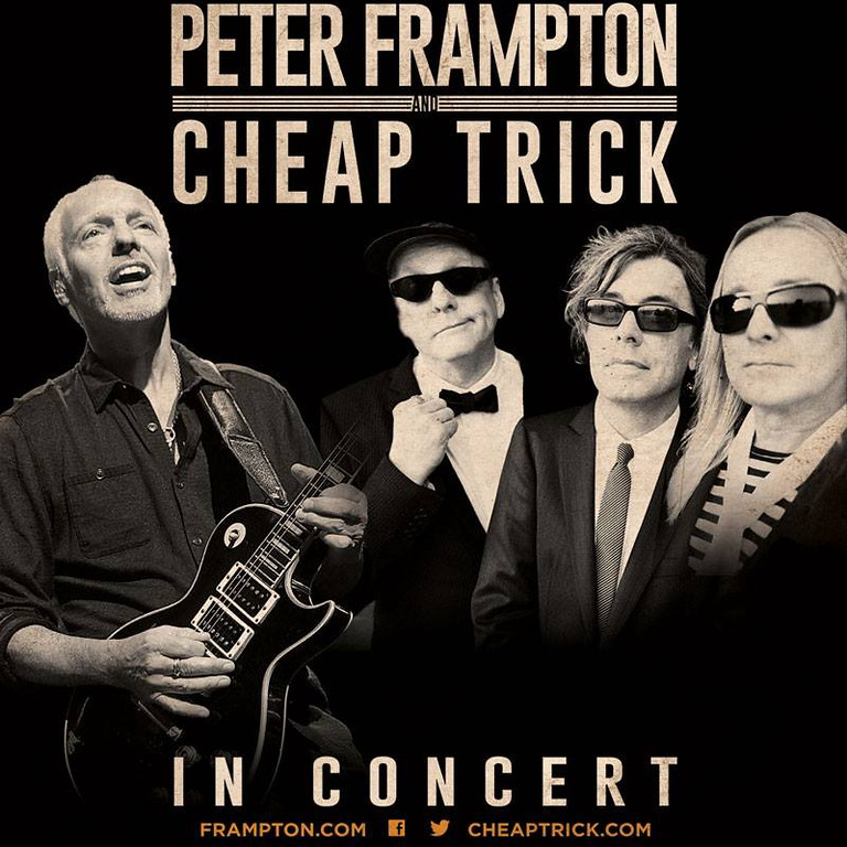 . Peter Frampton and Cheap Trick - July 21