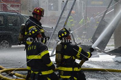 20130726 - Huntington Manor - Building Fire