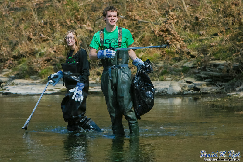 Cleaning the River