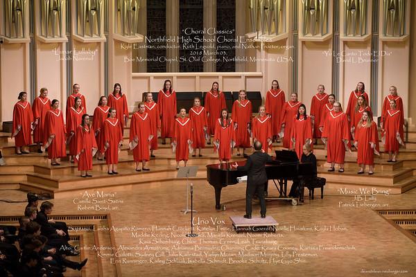 NHS Choir 2018 March