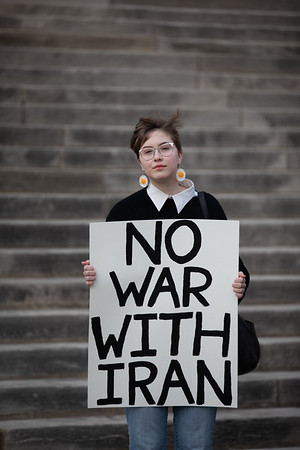 No War With Iran Protest 1-9-2020