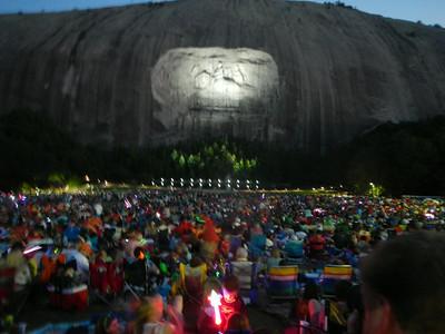 07-05 - Stone Mountain Fireworks