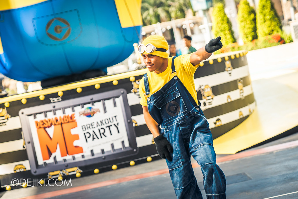 Despicable Me Breakout Party at Universal Studios Singapore / Wild Minion