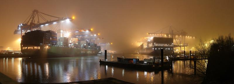 2009 01 28 Nacht im Hafen Hamburg